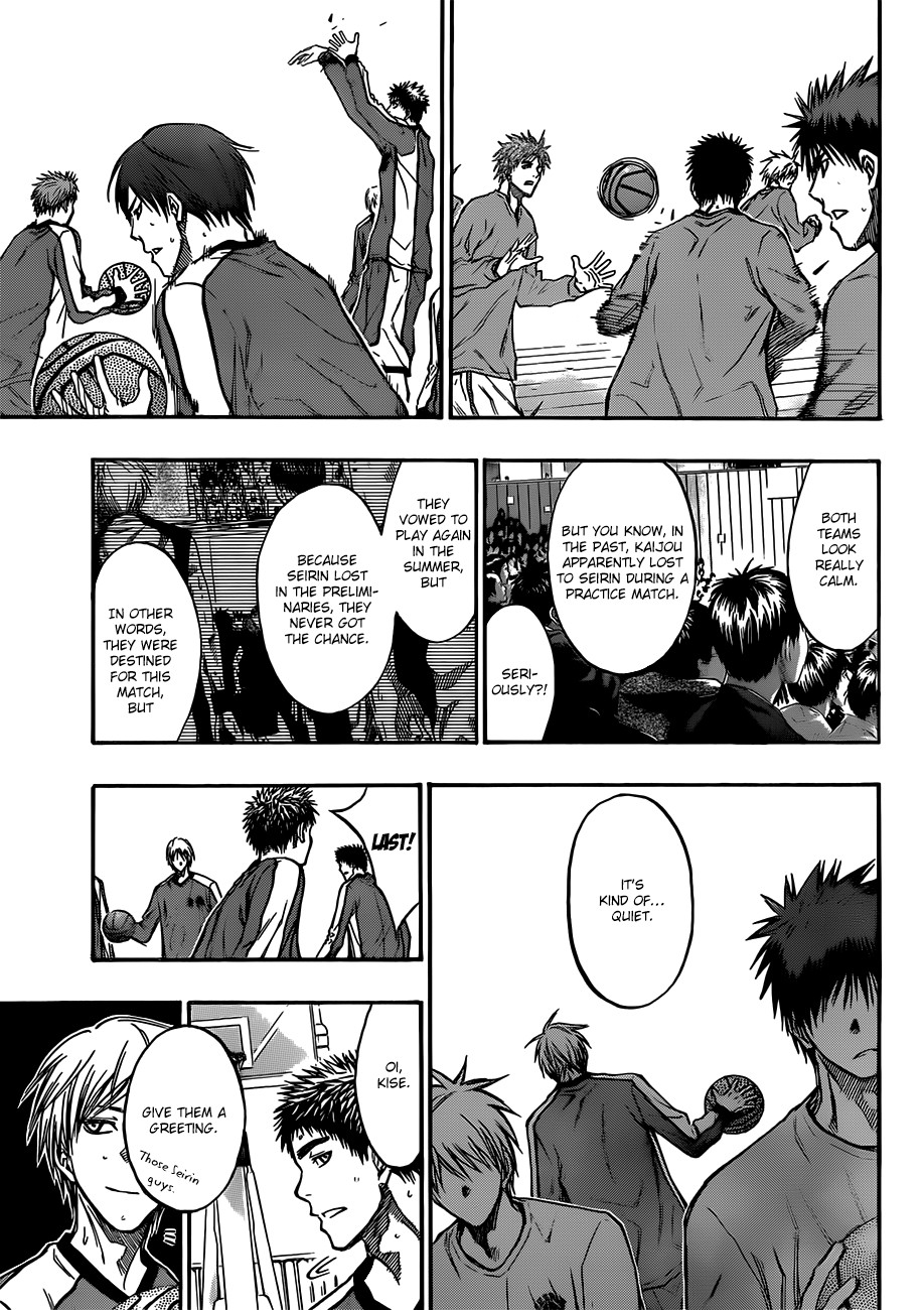 Kuroko no Basket Manga Chapter 183 - Image 13