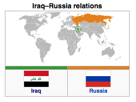 Iraq - Russia Relations