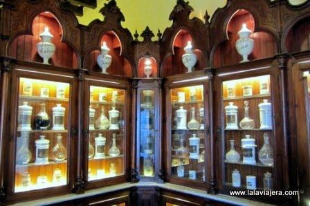Antigua botica de Jerez, en el Palacio de Villavicencio