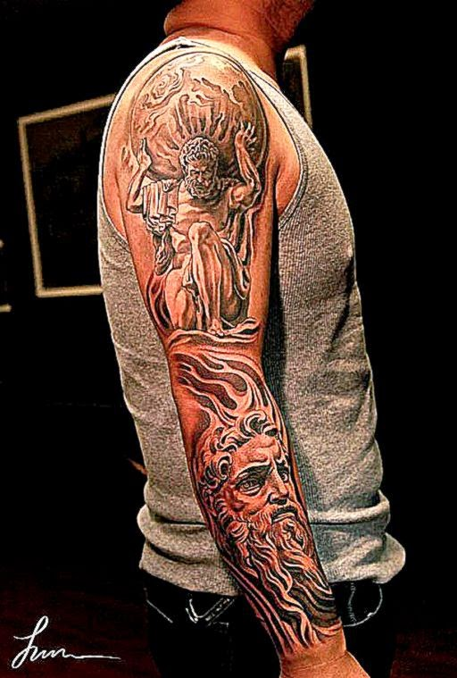 30 beautiful Tattoos by Jun Cha – Between Ancient Greece and