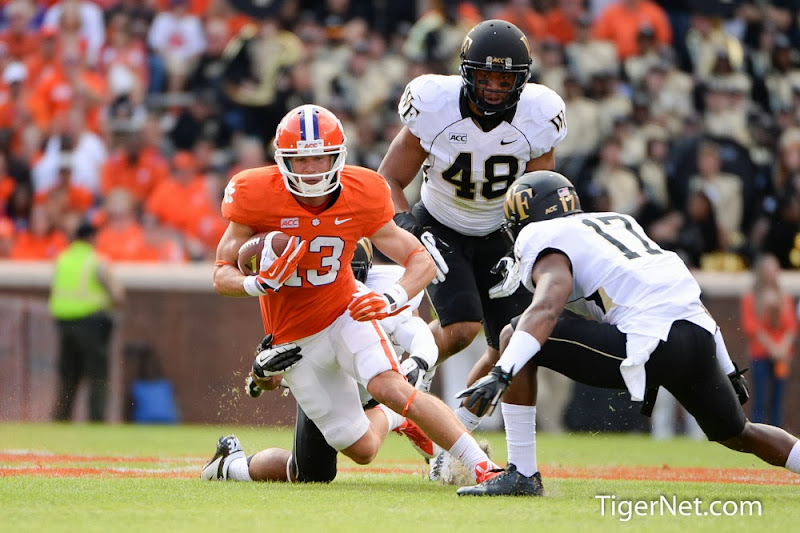 Wake Forest vs. Clemson Photos - 2013, Adam Humphries, Football, Wake Forest