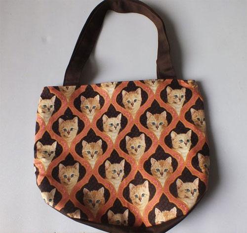 Inspiração: gatinho - bolsa