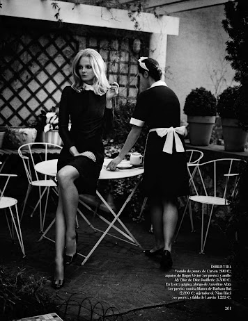 Eniko Mihalik - Belle de Jour - Vogue España - septiembre 2012