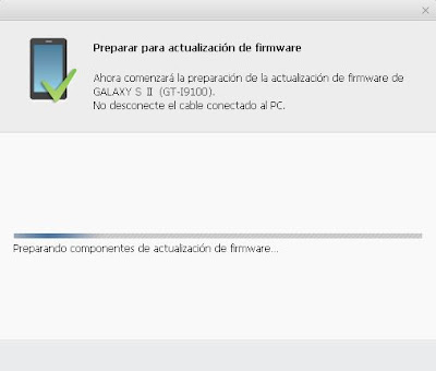 Actualizar Samsung Galaxy SII a Android 4.0 Ice Cream Sandwich