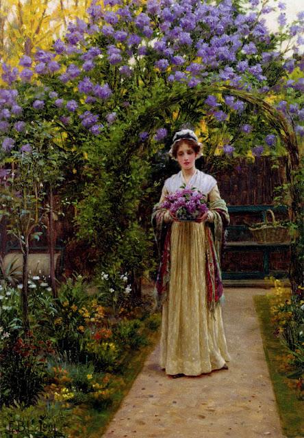 Edmund Blair Leighton - Lilac