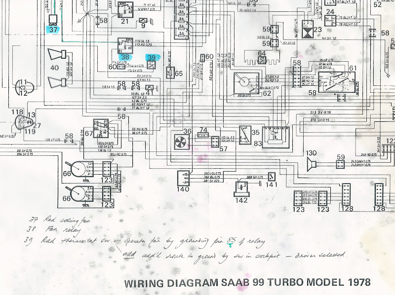 UKSaabs • View topic - What's been going on here then? 99T rad fan manual  overrideUK Saab