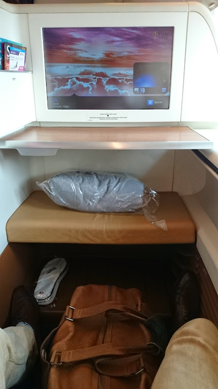 Review   thai airways : first class   bangkok to tokyo (a380 ...