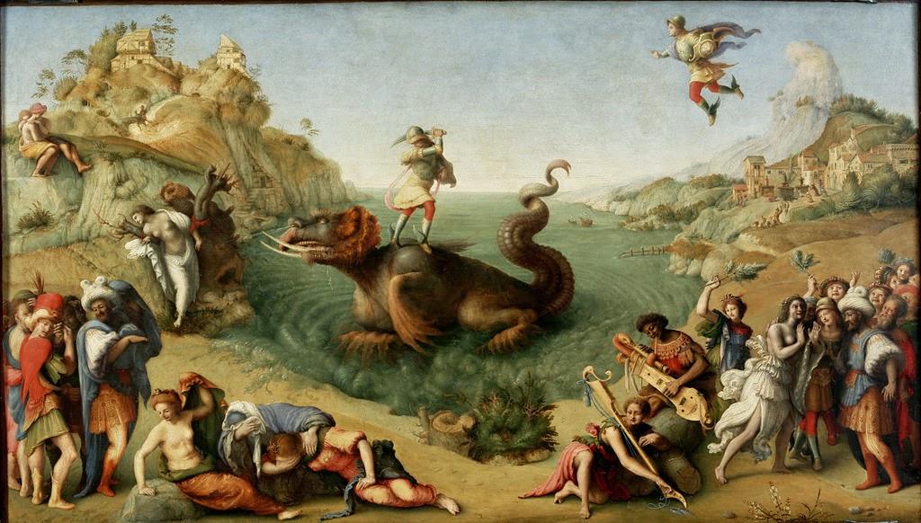Piero di Cosimo - Liberazione di Andromeda - Google Art Project.