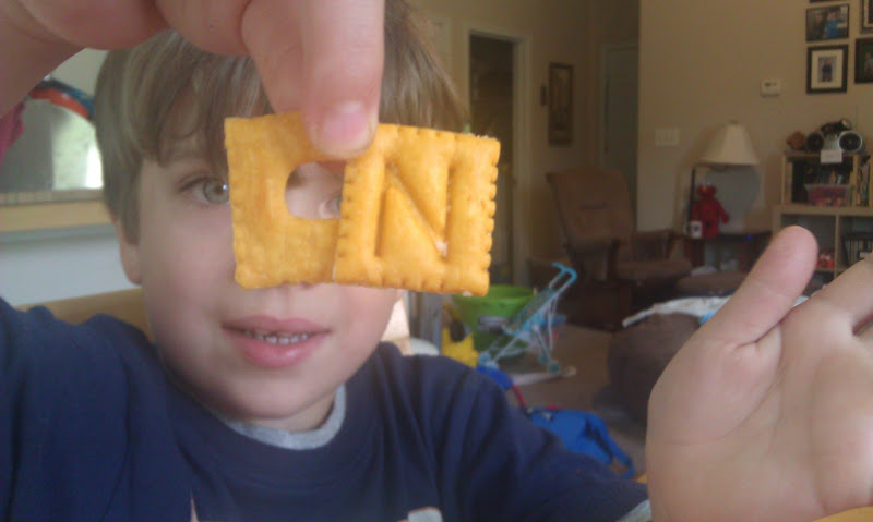 Ian makes the CN with crackers