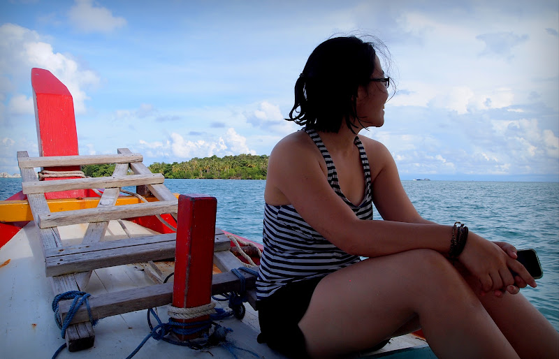 Island hopping in Belitung Island, Indonesia