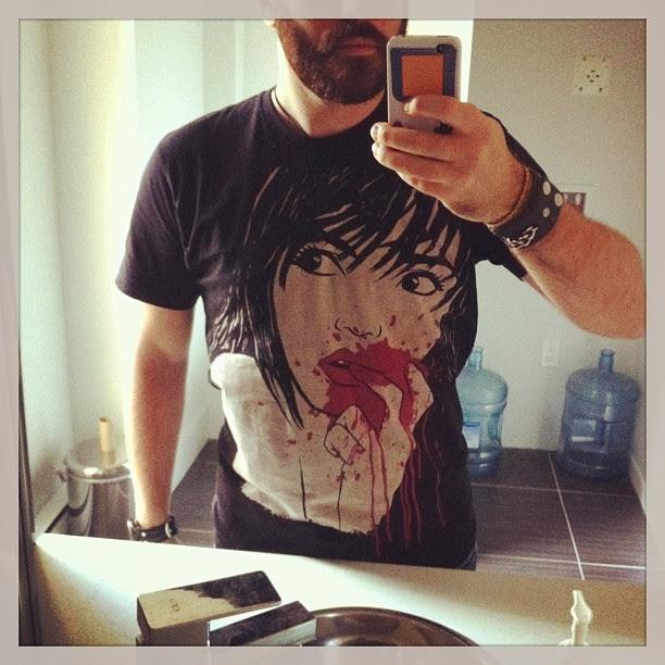 instagram, tshirt, emo tshirt, goth tshirt, geek tshirt, horror tshirt, akumu ink, horror con, comiccon,