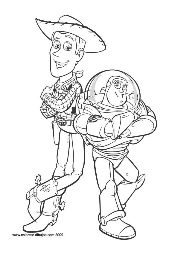 Imagenes Para Colorear: Imágenes Para Colorear De Toy Story