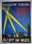 Propaganda poster uit WO2. Collectie E. Heijink