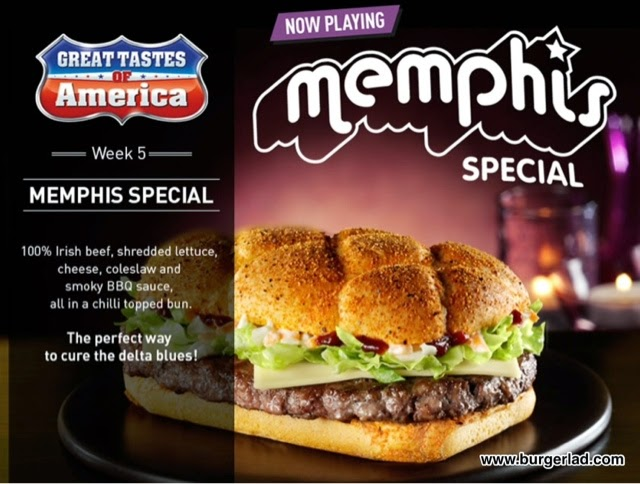 McDonald's Great Tastes of America Memphis Special