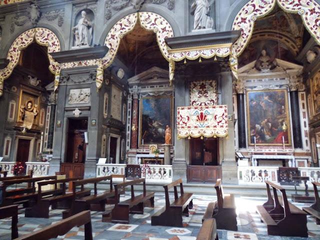 Capillas iglesia de Santi Michele e Gaetano