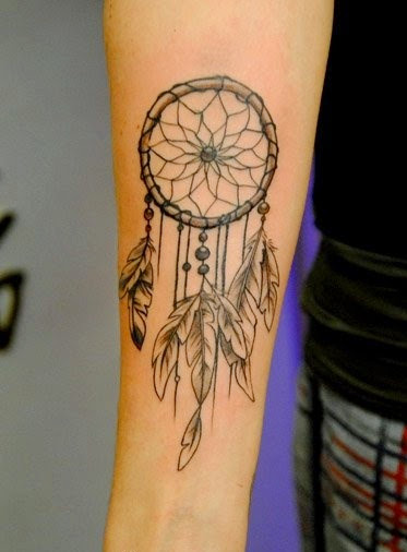 Dream Catcher Tattooes 40 Best Dreamcatcher Tattoos 12