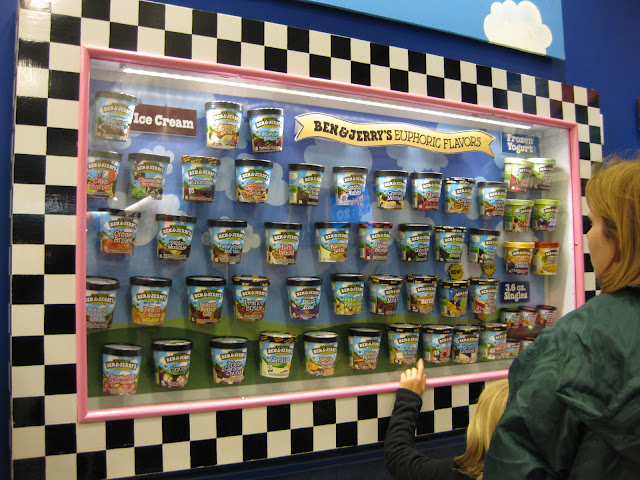 Euophoric flavours at Ben & Jerry's Waterbury factory