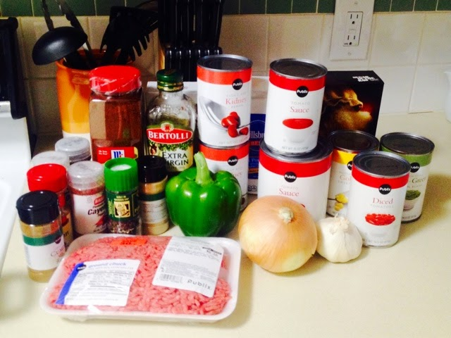 food, how-to, cooking, chili, Cooking Comically, Tyler Capps, food blog, tiny kitchen