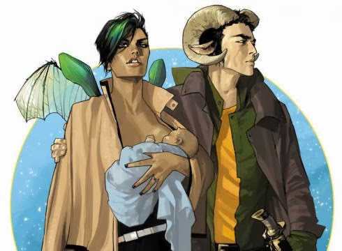 Saga Fiona Staples Comic tebeo Image Brian K. Vaughan Crying Grumpies