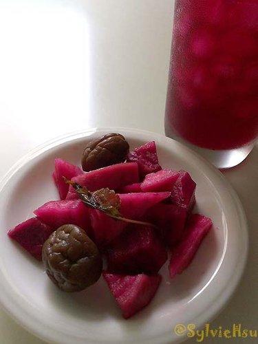 私房小料理– 紫蘇梅釀甜菜根 | 農耕工作坊