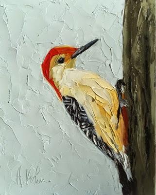 Hallie Kohn Art: Red-bellied Woodpecker