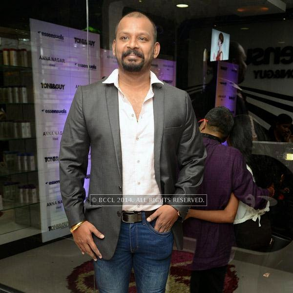 Sam during the launch of salon 'Essensuals', in Chennai.