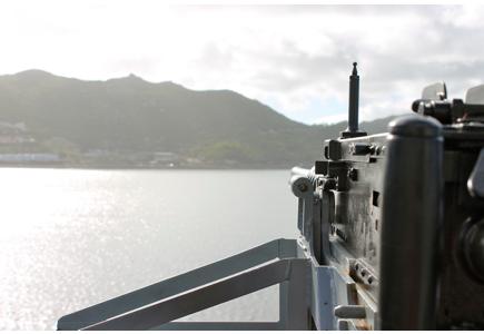 machine gun SAS Drakensburg