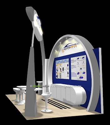 Exhibition Booth Design - Tyrexpo Asia 2011