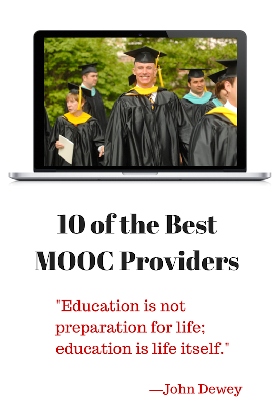 10 of the Best MOOC Providers.