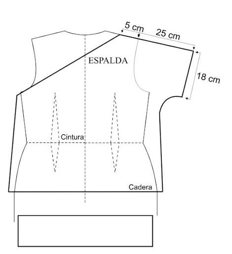 Moldes para blusas de moda - Imagui