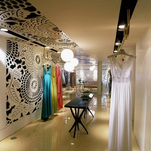 Vakko Couture the Elegant Boutique Design