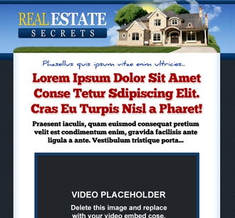 Sales Page | Real Estate Secrets
