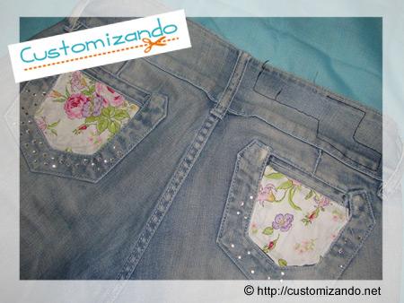 Cortar calça jeans e transformar em short