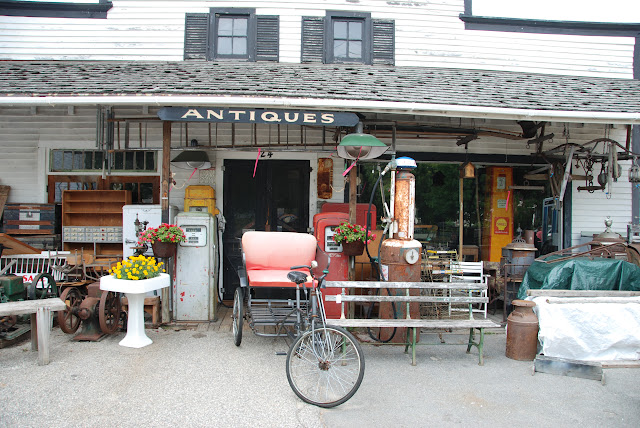 the ubiquitous antique shop