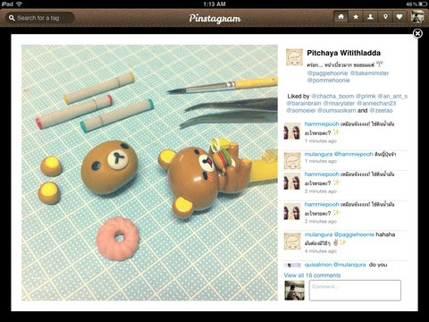 Pinstagram - Showing Photos