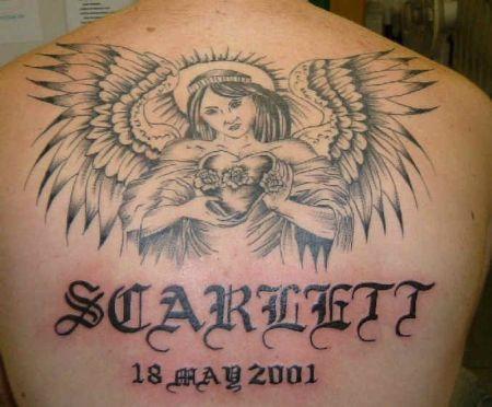 Wzory Tatuaży Galeria Anioły