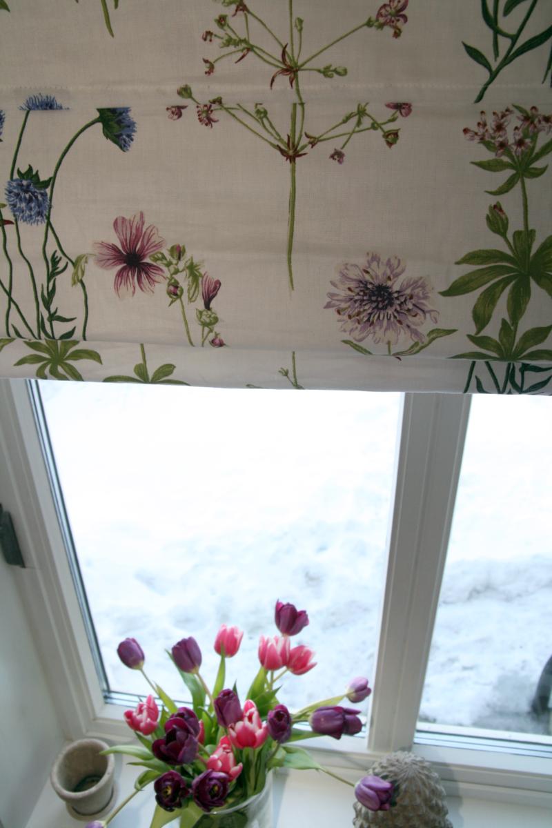 Emmas utsikt: vårliga gardiner