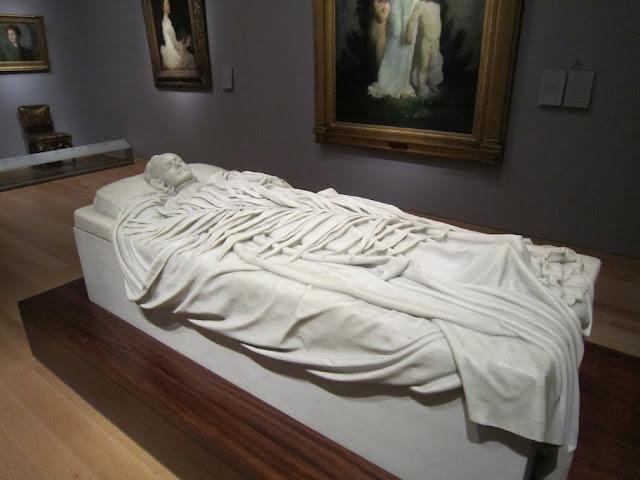 Надгробок Елізабет Бут Дювенек. Музей образотворчих мистецтв в м. Бостоні
