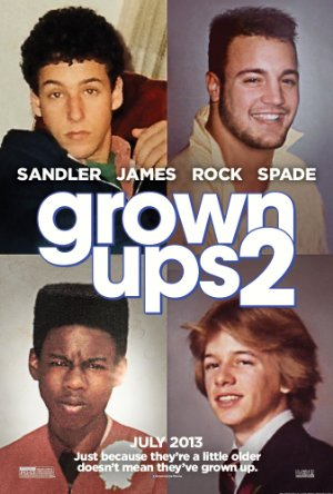 Picture Poster Wallpapers Grown Ups 2 (2013) Full Movies