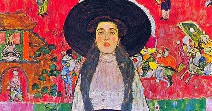 Desde el otro lado del cuadro: Portrait of Adele Bloch ... Klimt Adele Bloch Bauer Ii
