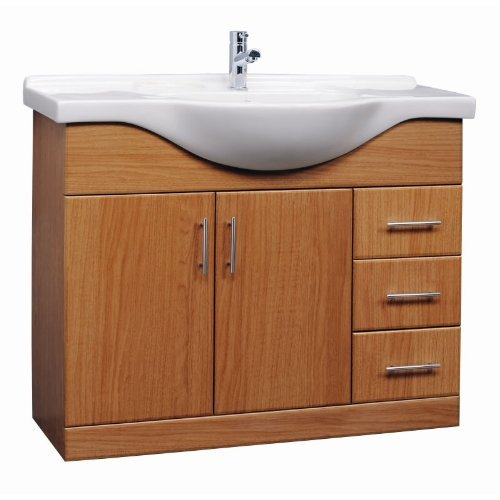Where Can I Buy Calvados 1050mm Vanity Unit Basin Sink Bathroom Units