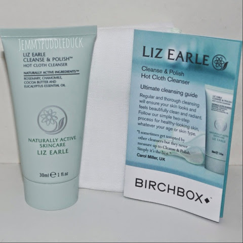 Liz earle hot cloth cleanser birchbox may 2014