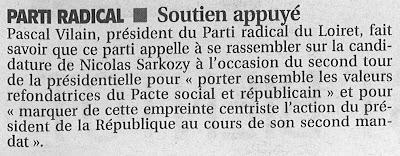 La République du Centre, édition du 24 avril 2012
