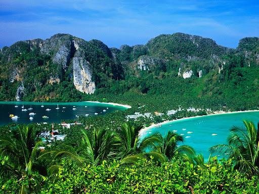 Ao Ton Sai and Ao Lo Dalam, Ko Phi-Phi Don, Thailand.jpg