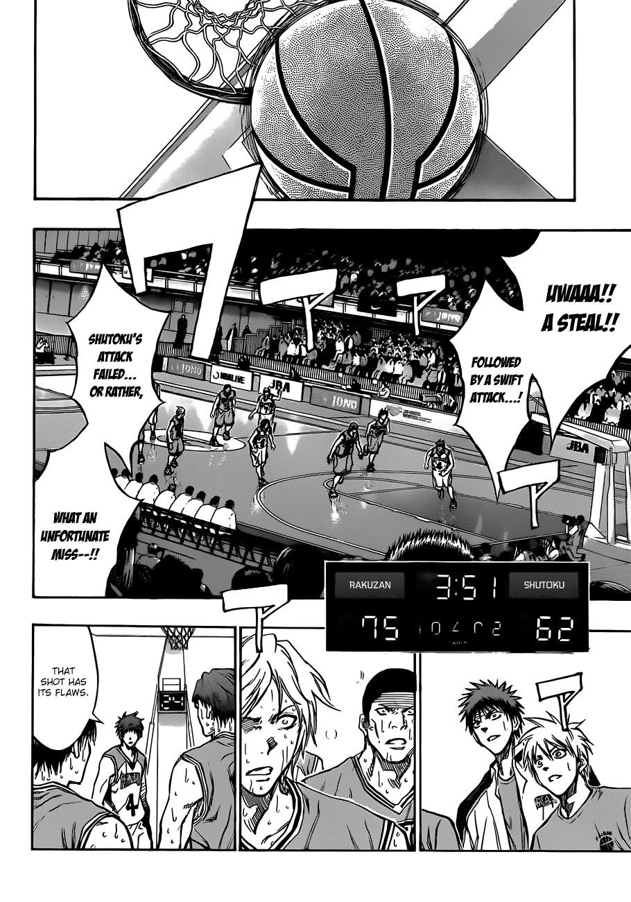 Kuroko no Basket Manga Chapter 182 - Image 10