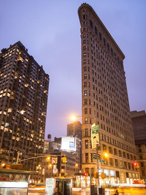 Flatiron Building, taken with Panasonic 14 f/2.5.