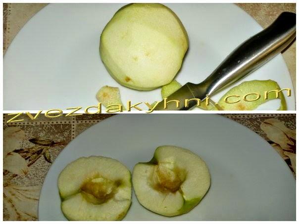 Блины яблочные