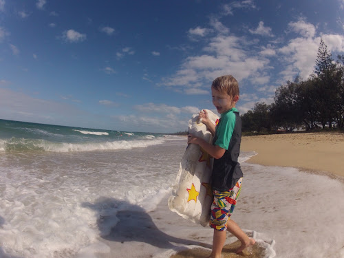 Nathan at Woodgate Beach