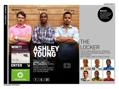 #5 Magazine App - Player Lounge