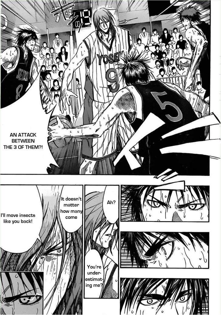 Kuroko no Basket Manga Chapter 155 - Image 07